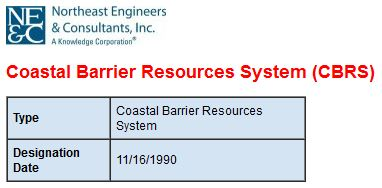Coastal Barrier Resource System (CBRS)